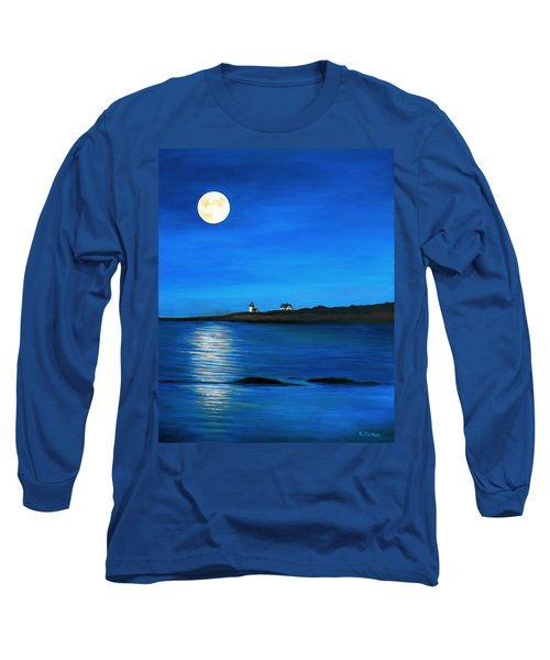 Rockport Harvest Moon Long Sleeve T-Shirt by Eileen Patten Oliver
