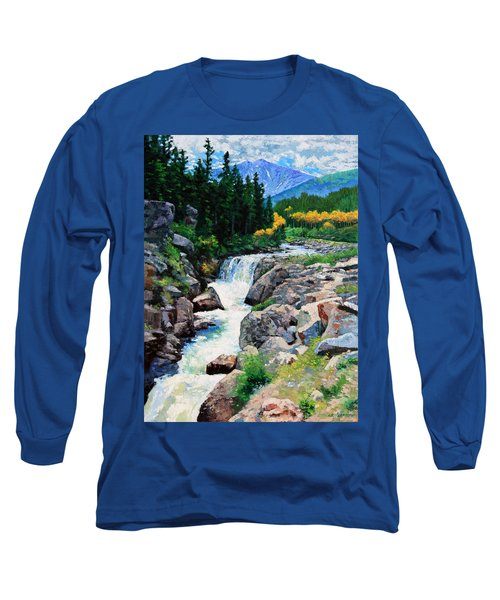 Rocky Mountain High Long Sleeve T-Shirt by John Lautermilch