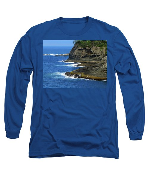 Long Sleeve T-Shirt featuring the photograph Rocky Shores by Tikvah's Hope