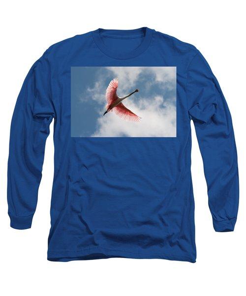 Roseate Soaring Long Sleeve T-Shirt