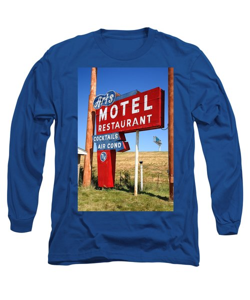 Route 66 - Art's Motel Long Sleeve T-Shirt