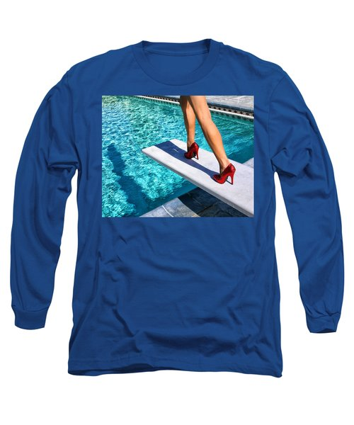 Ruby Heels Ready For Take-off Palm Springs Long Sleeve T-Shirt