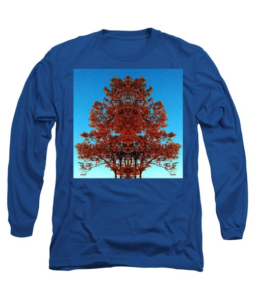 Long Sleeve T-Shirt featuring the photograph Rust And Sky 2 - Abstract Art Photo by Marianne Dow
