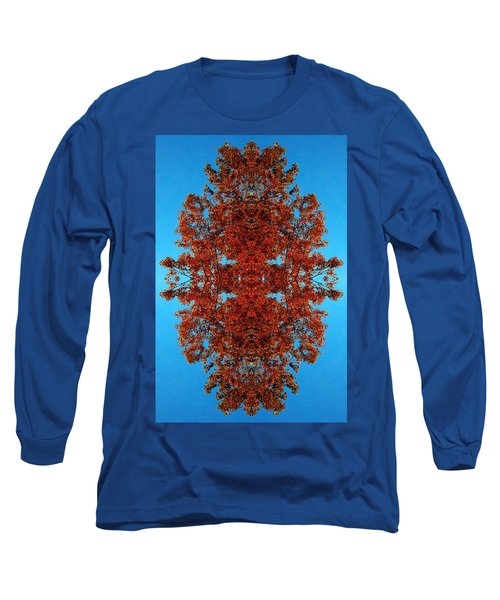 Long Sleeve T-Shirt featuring the photograph Rust And Sky 4 - Abstract Art Photo by Marianne Dow