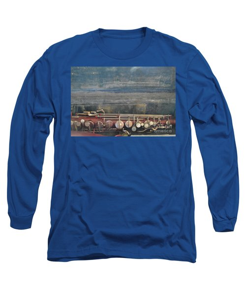 Long Sleeve T-Shirt featuring the photograph Safe Sax In Vegas by Brian Boyle
