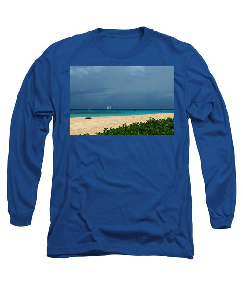 Sail Away Long Sleeve T-Shirt by Catie Canetti