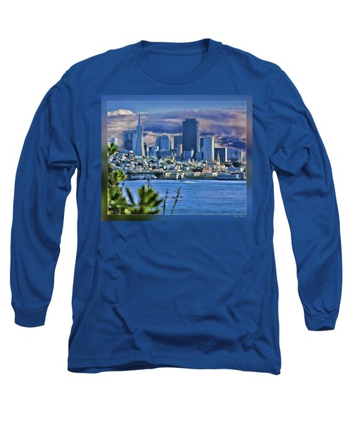 San Francisco From Alcatraz Long Sleeve T-Shirt
