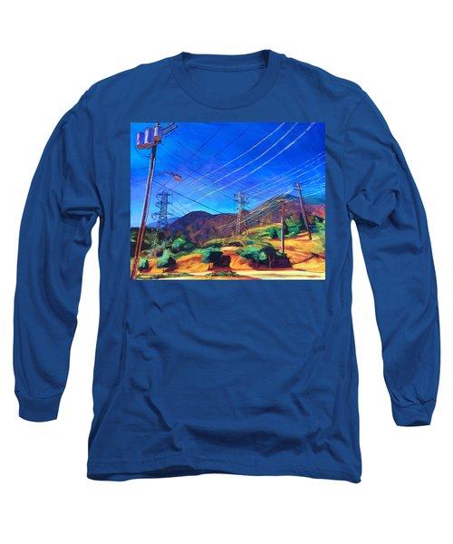 San Gabriel Power Long Sleeve T-Shirt by Bonnie Lambert