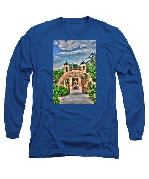 Long Sleeve T-Shirt featuring the photograph Santuario De Chimayo by Lanita Williams