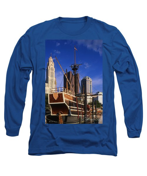 Santa Maria Replica Photo Long Sleeve T-Shirt