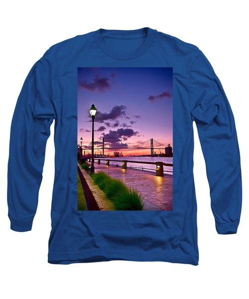 Savannah River Bridge Long Sleeve T-Shirt
