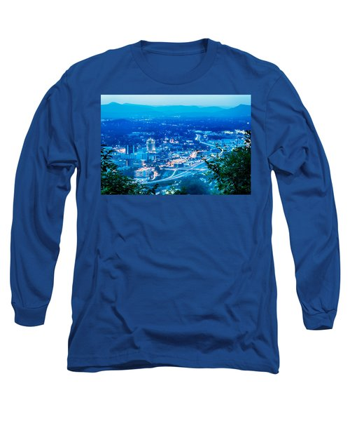 Scenics Around Mill Mountain Roanoke Virginia Usa Long Sleeve T-Shirt