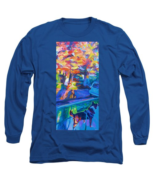 Scout In The Morning Long Sleeve T-Shirt by Bonnie Lambert