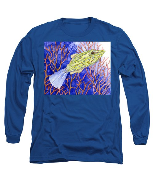 Scrawled Filefish Long Sleeve T-Shirt