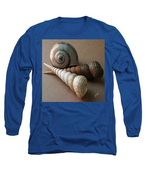 Seashells Spectacular No 29  Long Sleeve T-Shirt
