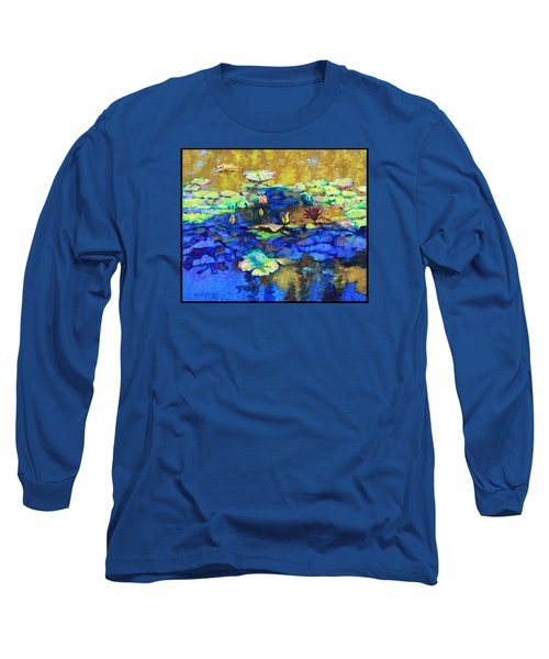 Shadows And Sunspots Long Sleeve T-Shirt by John Lautermilch
