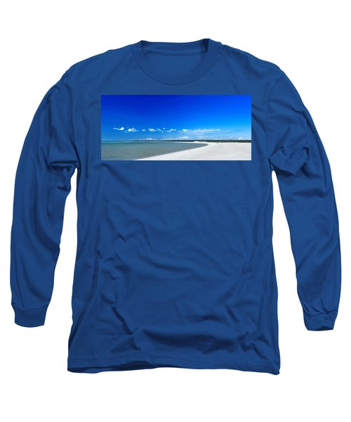 Long Sleeve T-Shirt featuring the photograph Shell Beach by Yew Kwang