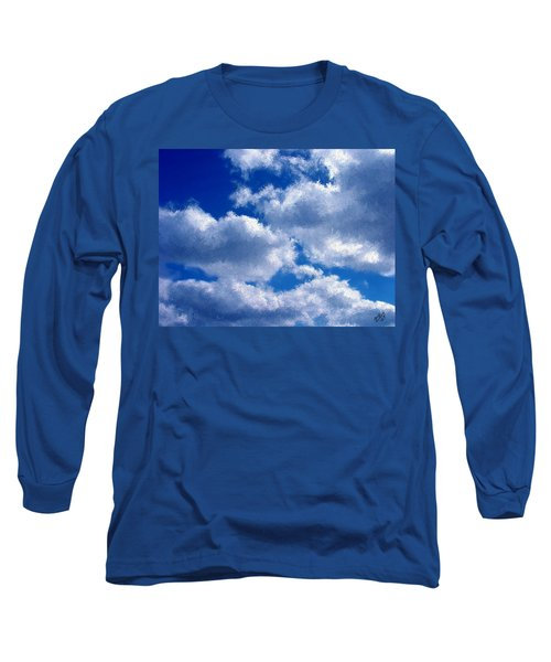 Shredded Clouds Long Sleeve T-Shirt