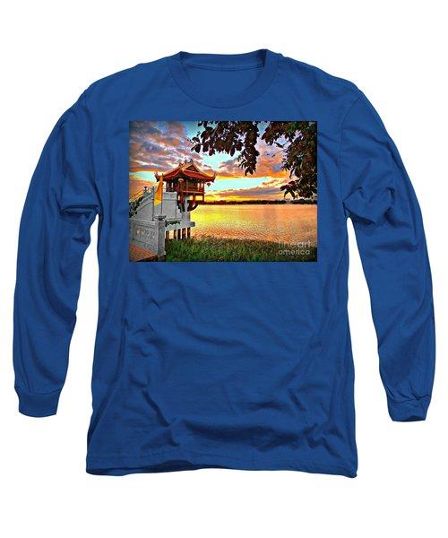Shrine On The Lake. Long Sleeve T-Shirt