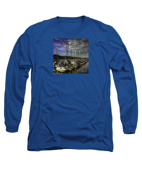 Long Sleeve T-Shirt featuring the photograph Side By Side by Jean OKeeffe Macro Abundance Art