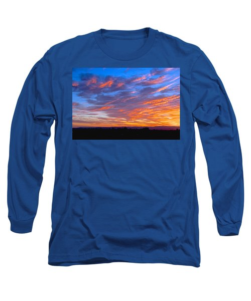 Sierra Nevada Sunrise Long Sleeve T-Shirt by Eric Tressler