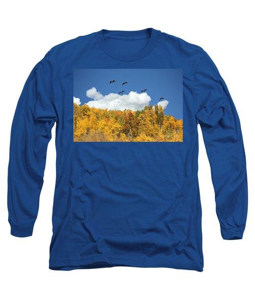 Signs Of The Season Long Sleeve T-Shirt by Bob Hislop