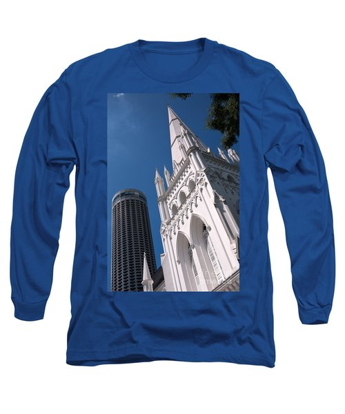 Singapore St Andrews Cathedral 05 Long Sleeve T-Shirt