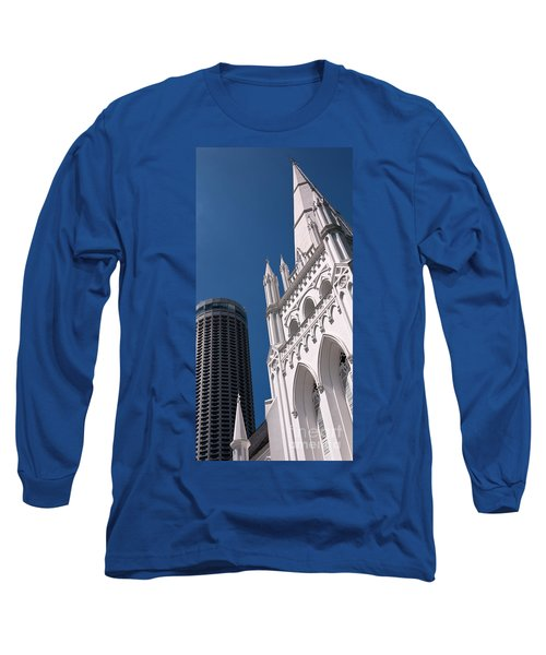 Singapore St Andrews Cathedral 06 Long Sleeve T-Shirt