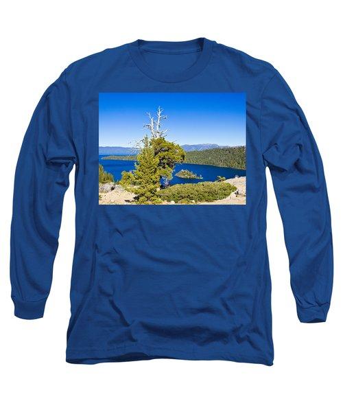 Sky Blue Water - Emerald Bay - Lake Tahoe Long Sleeve T-Shirt