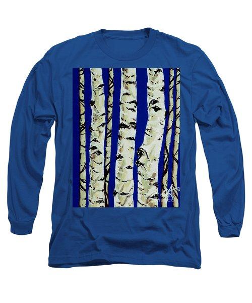 Sleeping Giants Long Sleeve T-Shirt by Jackie Carpenter