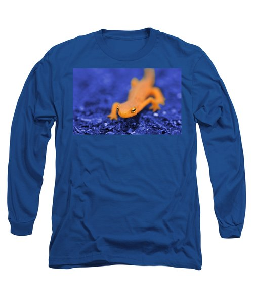 Sly Salamander Long Sleeve T-Shirt by Luke Moore