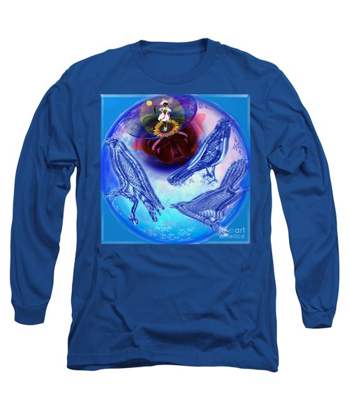 Snowbirds Flock To Eternal Spring Long Sleeve T-Shirt