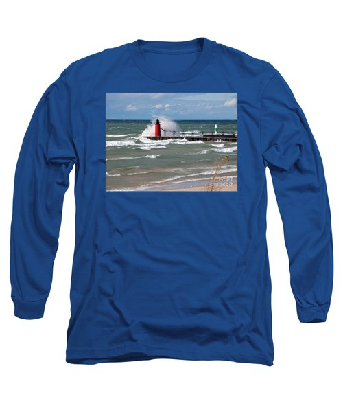 South Haven Splash Long Sleeve T-Shirt by Ann Horn