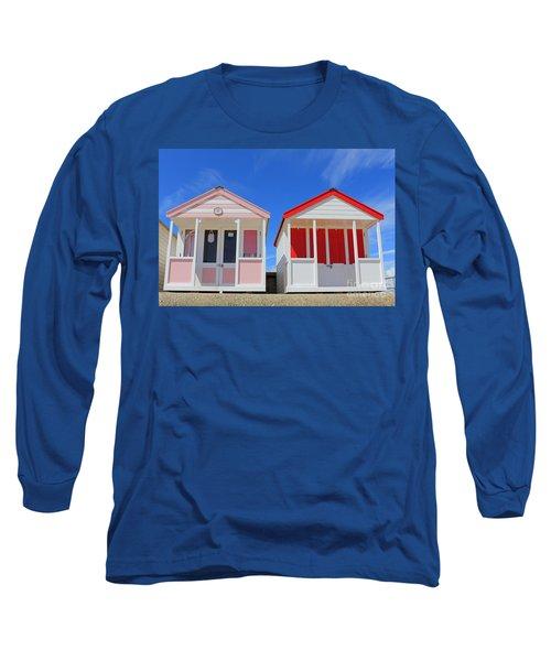 Southwold Beach Huts Long Sleeve T-Shirt