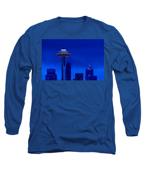 Space Needle Heights Long Sleeve T-Shirt