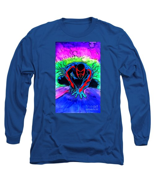 Spider-man 2099 Illustration Edition Long Sleeve T-Shirt by Justin Moore