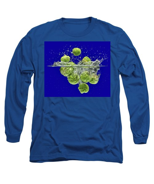 Splash-brussels Sprouts Long Sleeve T-Shirt