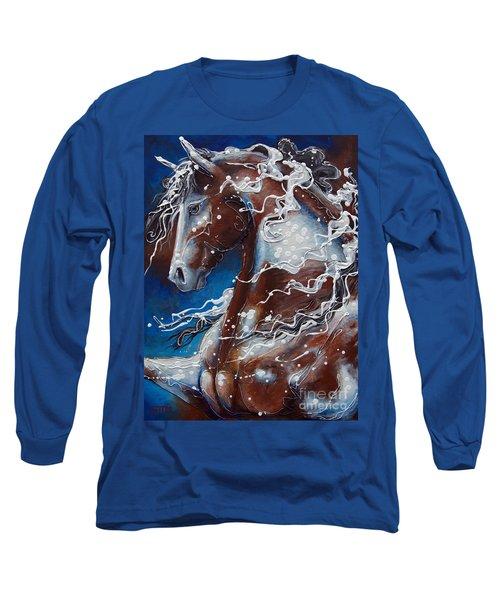 Splish Splashed My Paint Long Sleeve T-Shirt