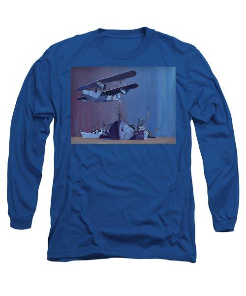 Ss Ohio Long Sleeve T-Shirt by Ray Agius