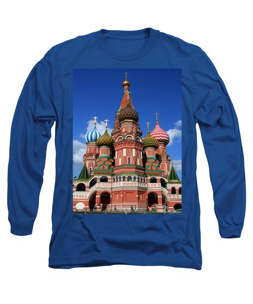 St. Basil's Cathedral Long Sleeve T-Shirt