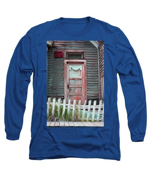 St. Elmo Door Salmon Long Sleeve T-Shirt