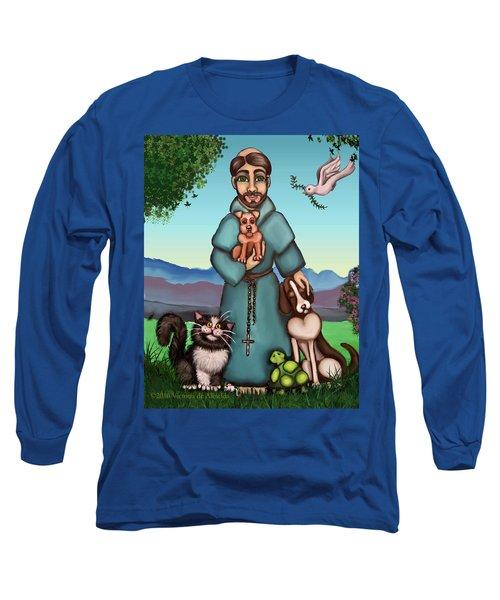St. Francis Libertys Blessing Long Sleeve T-Shirt