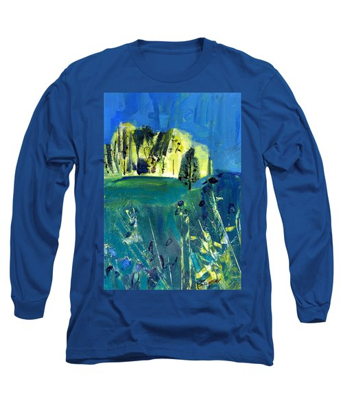Stand Of Trees In Distance Long Sleeve T-Shirt