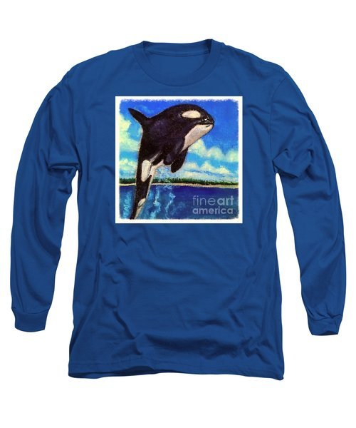 Standing Above The Rest Long Sleeve T-Shirt by Kimberlee Baxter