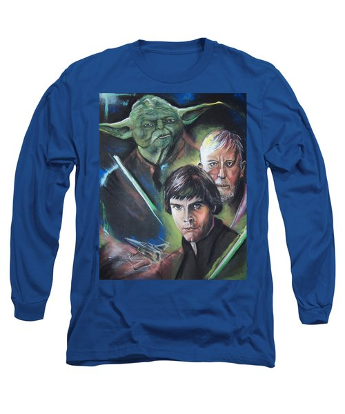 Star Wars Medley Long Sleeve T-Shirt by Peter Suhocke