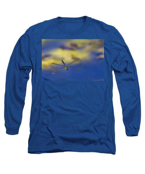 Long Sleeve T-Shirt featuring the photograph Stealth Chopper by Gary Holmes