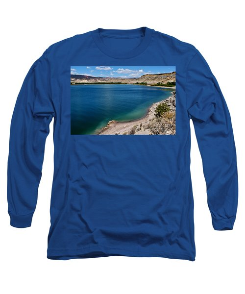 Long Sleeve T-Shirt featuring the photograph Steinacker Reservoir Utah by Janice Rae Pariza