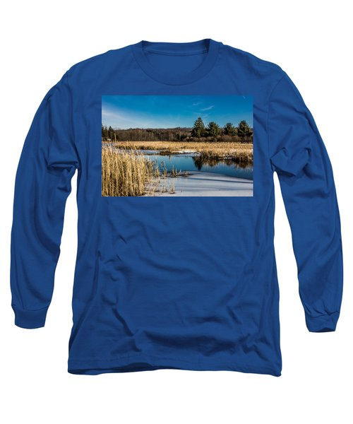 Stillness Long Sleeve T-Shirt by Sara Frank