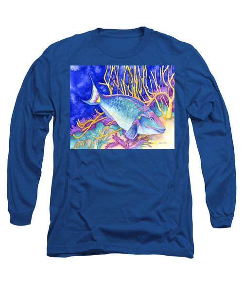 Stoplight Parrotfish Long Sleeve T-Shirt
