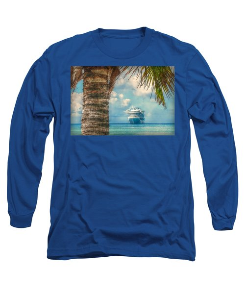 Stopover In Paradise Long Sleeve T-Shirt